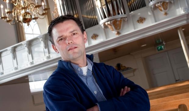 <p>25 jarig jubileum Andr&eacute; van Vliet, organist.</p>