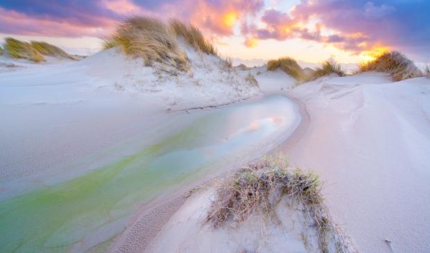 <p>De duinen</p>