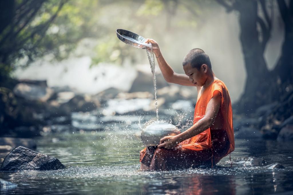 'Water, de meest bijzondere stof op aarde' was ook onderwerp op een bijeenkomst. (Stockfoto) © rodi