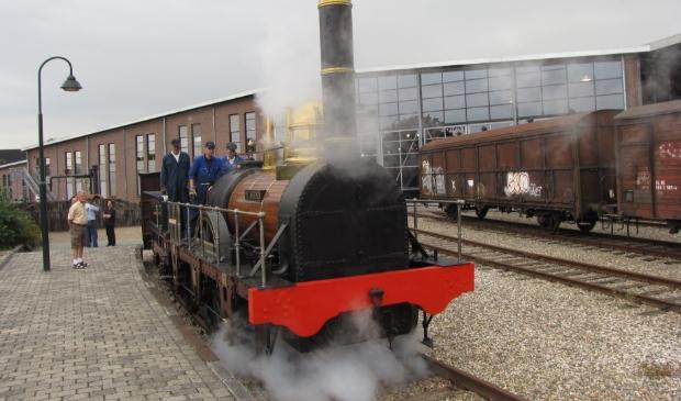 <p>De locomotief gaat maandag 20 september voor groot onderhoud naar de werkplaats van Museumstoomtram Hoorn-Medemblik.</p>