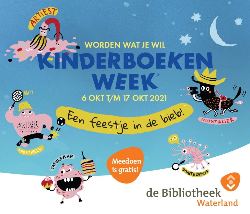 Het thema van de KInderboekenweek is 'Worden wat je wil'. ((Foto: aangeleverd)) © rodi