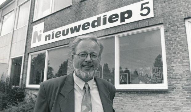Directeur Jan van Houten.