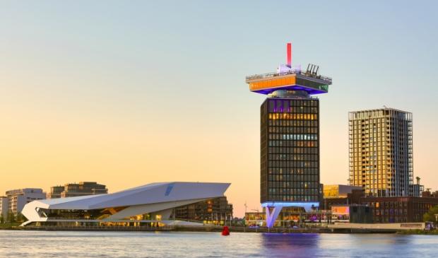 <p>Amsterdam-Noord vanaf het IJ.</p>