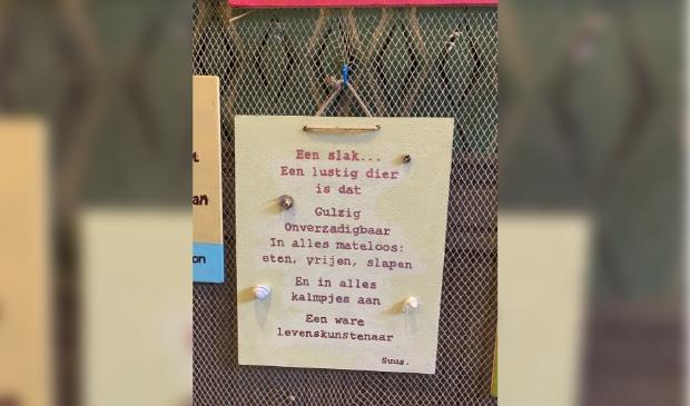 <p>Gedicht van Suus gemaakt voor de Wall of Fame, de Expo&euml;zietie in Bakkum.</p>