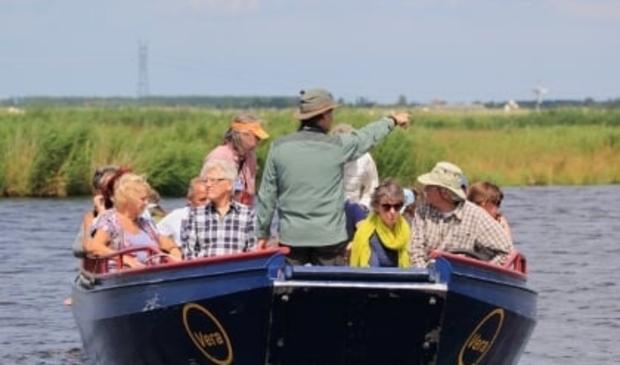 Per boot door het Ilperveld.