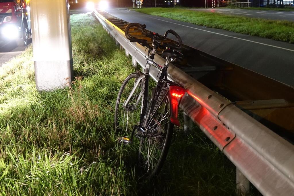 Onbeheerde fiets en melding persoon te water. Foto: Inter Visual Studio / Danielle Rood © rodi
