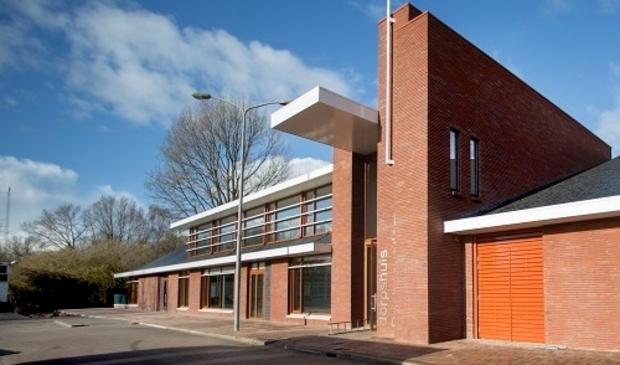 <p>De nieuwe Huivesting: het Dorpshuis.</p>
