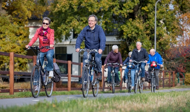 <p>Door fietsen blijven mensen langer gezond, sociaal en zelfredzaam. </p>