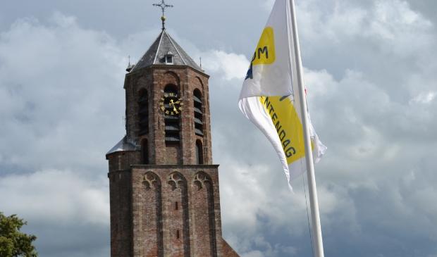<p>Bij De Woudse Dom in Rijnsaterwoude is het mogelijk de toren te beklimmen.</p>