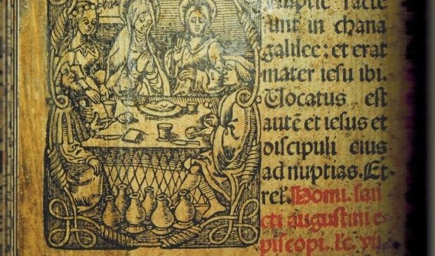 Scan uit het besproken boek van De bruiloft te Kana. Scan door Frans Assenberg.