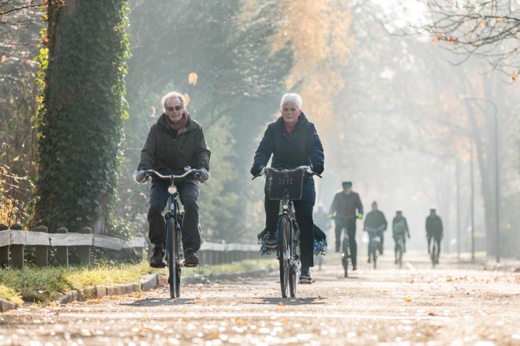 Hoe ouderen(65+) actief kunnen blijven fietsen. (Foto: aangeleverd) © rodi