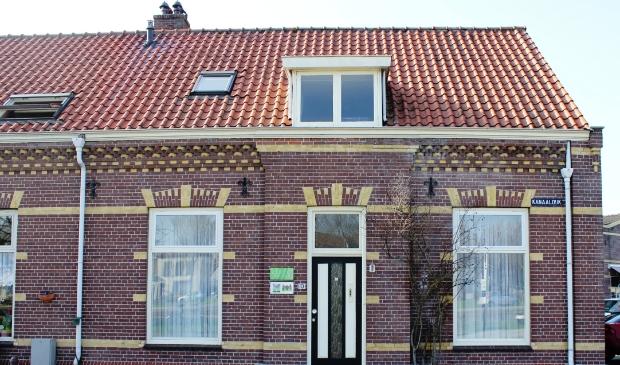 <p>Het VHP-huis op Kanaaldijk 10.</p>