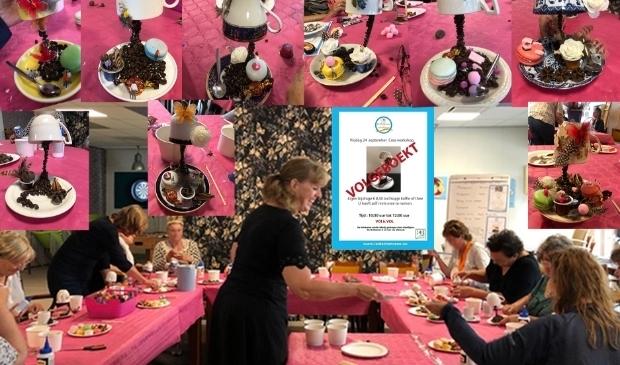 Crea workshop in De Huiskamer