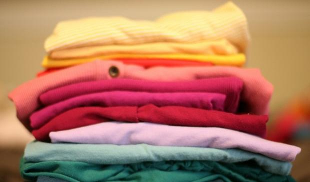 <p>Met het inleveren van kleding worden schoolkinderen in Oeganda gesteund.</p>