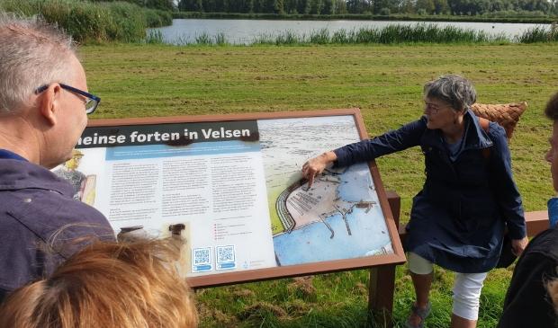 <p>Gids vertelt over de forten in de Romeinse tijd.</p>