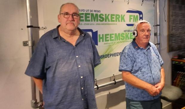 <p>Rob van Rookhuizen (links) en Piet Bal.</p>