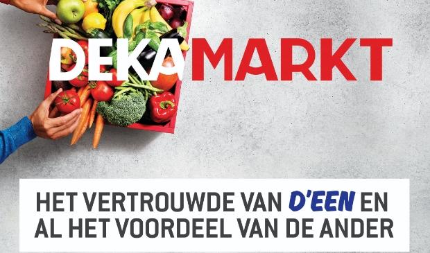 <p>Campagnebeeld van de negentien nieuwe DekaMarkt-winkels.</p>