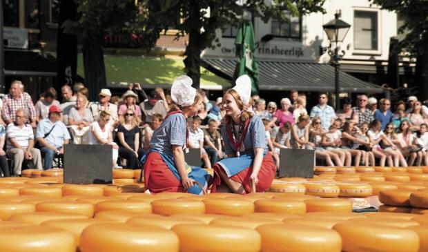 <p>Toch nog een kaasmarkt dit jaar.</p>