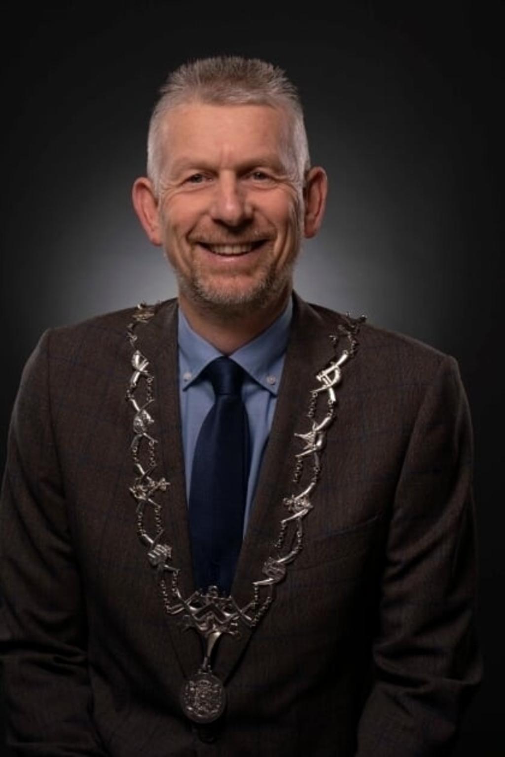 Burgemeester Jan de Boer. (Foto: aangeleverd) © rodi
