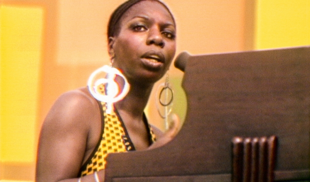 <p>Nina Simone in SUMMER OF SOUL. Photo Courtesy of Searchlight Pictures. &copy; 2021 20th Century Studios All Rights Reserved</p>