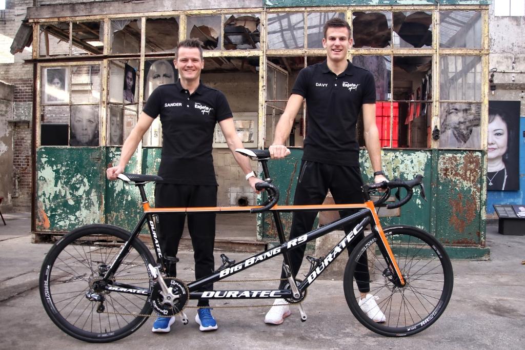 Olympisch triatleet Sander Koomen uit Wormer kreeg via de Zaanse Uitdaging hulp en opent op 13 oktober de beursvloer. (Foto: Menno de Haas) © rodi