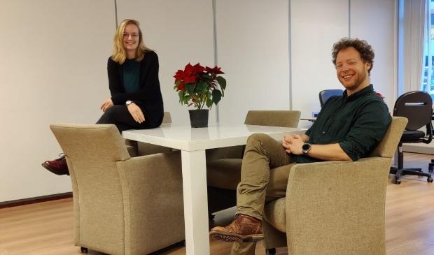 <p>Saskia Meijer (begeleider) en Paul Kreemers (projectleider en jeugdbehandelaar) </p>