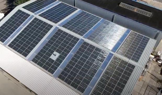 <p>De toekomst van Nieuwkoop: zonnepanelen op het dak.</p>