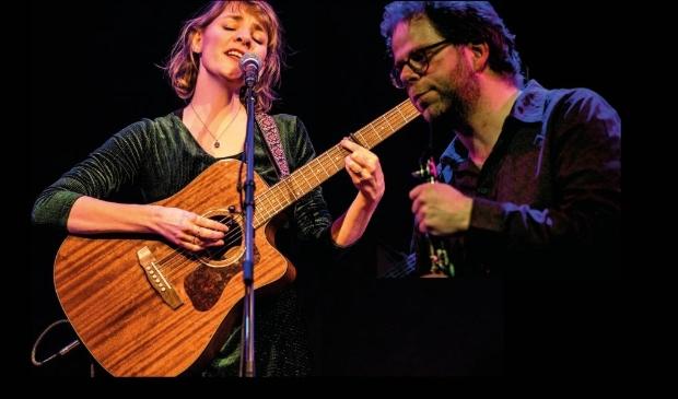 <p>Sophie Janna en Janos Koolen vormen een gelegenheidsduo.</p>
