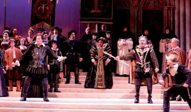 Fragment uit de opera 'Don Carlos' van Guiseppe Verdi.