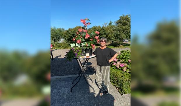 <p>Eerste prijs winnaar plantstel.&nbsp;</p>
