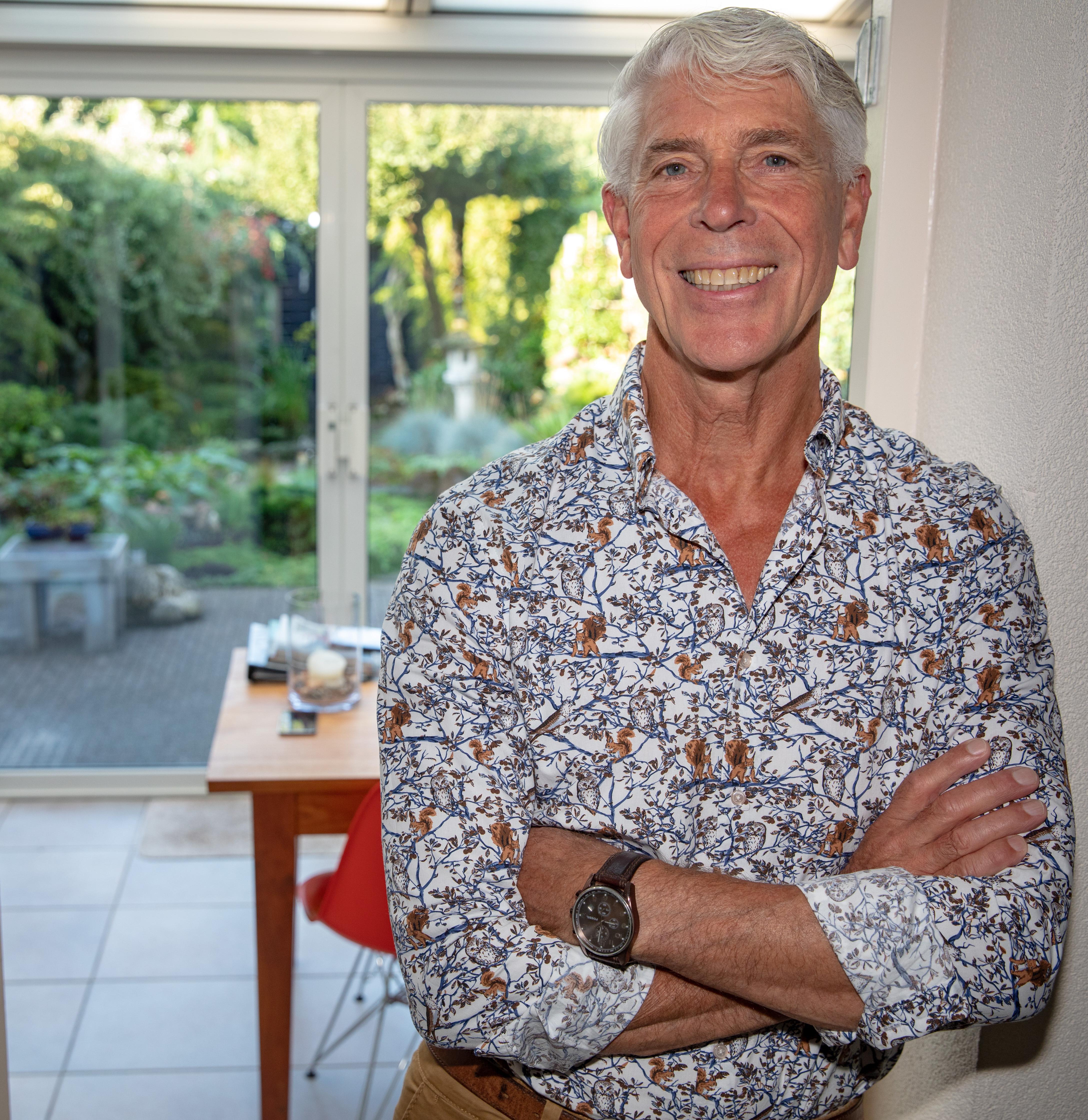 Guido Lamm vindt het heel bijzonder om te merken dat zo veel mensen geraakt worden door zijn liedjes. (foto Vincent de Vries/ Rodi Media)