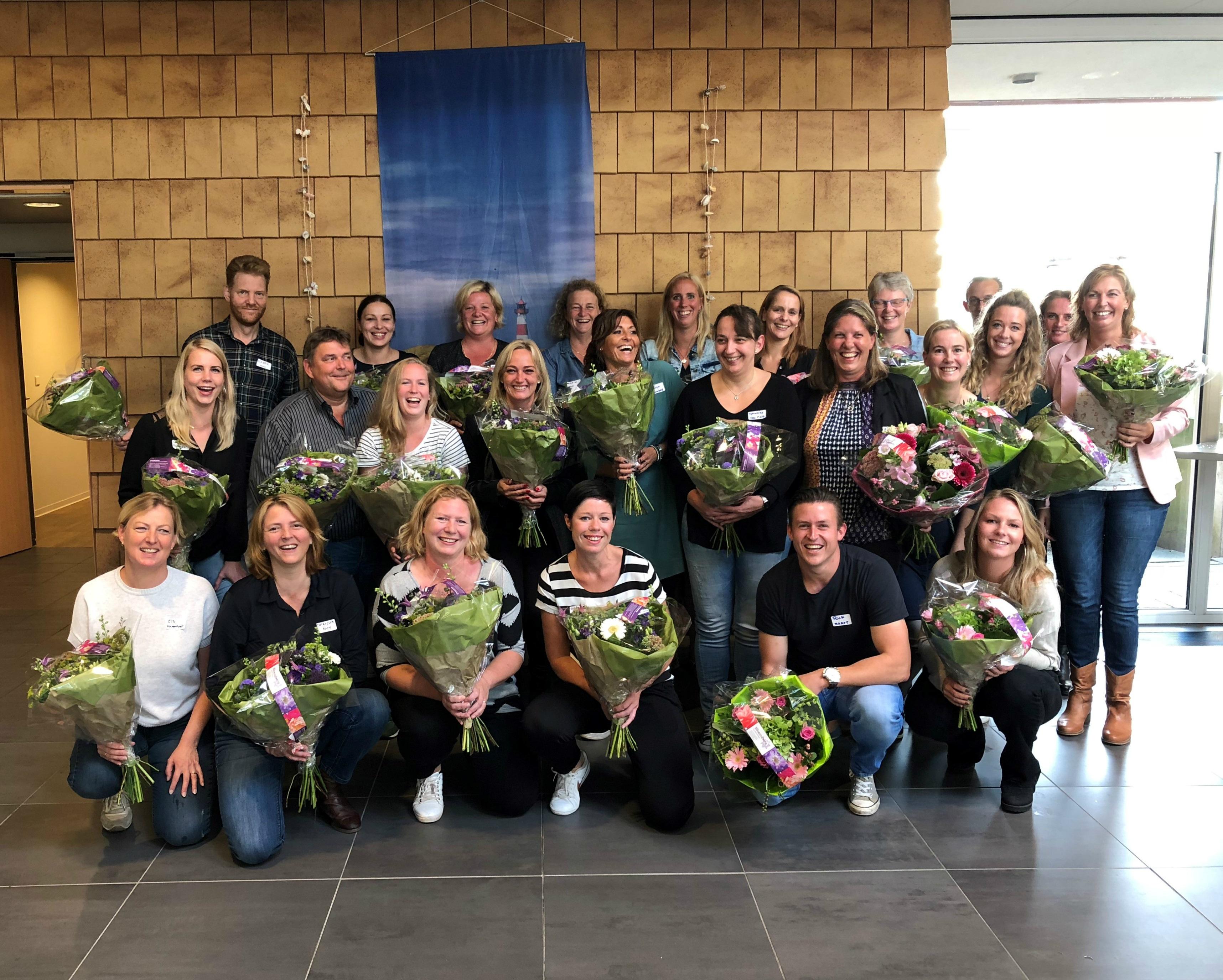 De MBO leerling-verpleegkundigen starten in november of maart met het unieke zij-instroomtraject (Foto: aangeleverd)