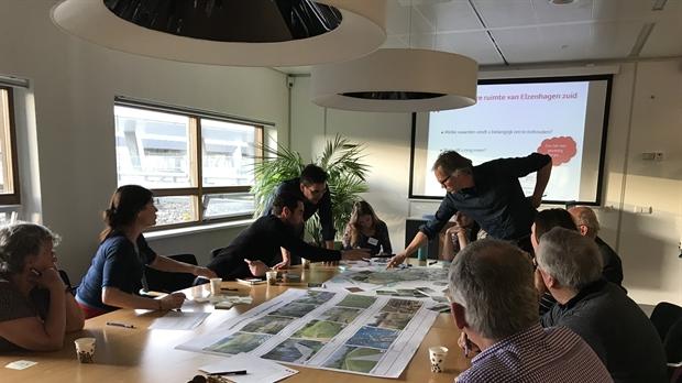 De gemeente Amsterdam nodigt Amsterdammers uit voor de tweede ontwerpbijeenkomst voor de inrichting van de openbare ruimte van Elzenhagen Zuid. (Foto: gemeente Amsterdam)