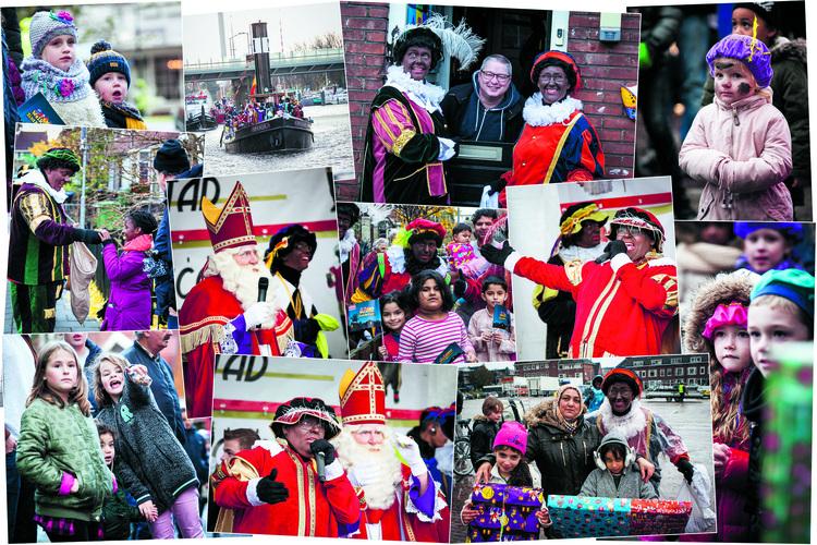 Kan het Grote Sinterklaasfeest in Zaandam-Zuid - zoals op deze foto van vorig jaar - nog wel doorgaan? (Foto: aangeleverd)