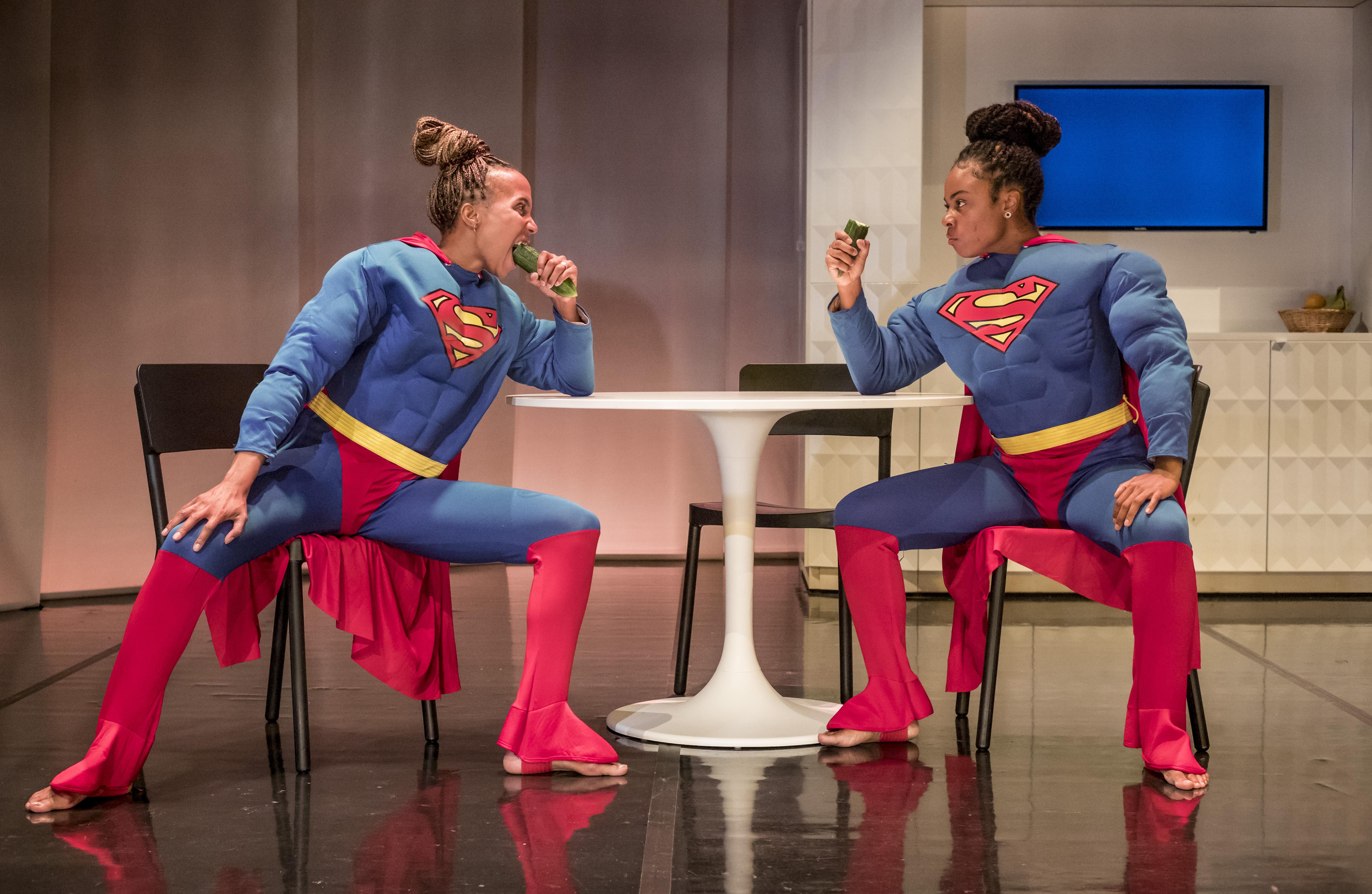 Dionne en Ritzah gaan op zoek naar evenwicht tussen mannelijkheid en vrouwelijkheid. (Foto: aangeleverd)