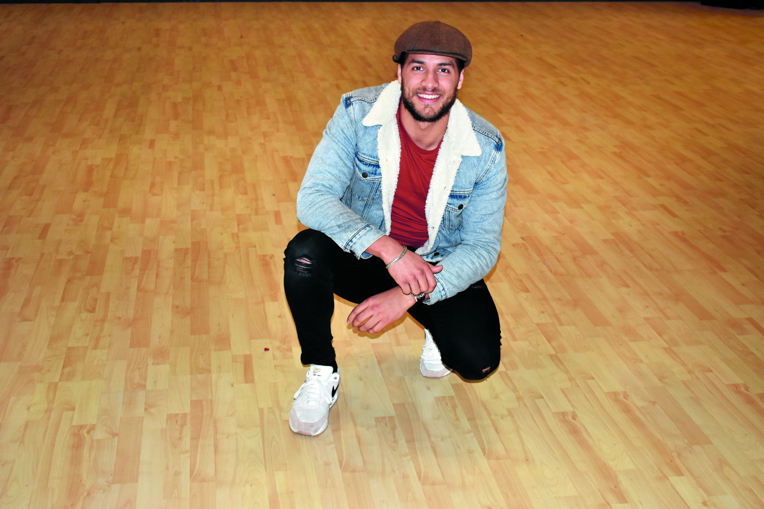 Juvat Westendorp is voor één keer helemaal terug op de dansvloer. (Foto: Daan Ruijter/Rodi Media)