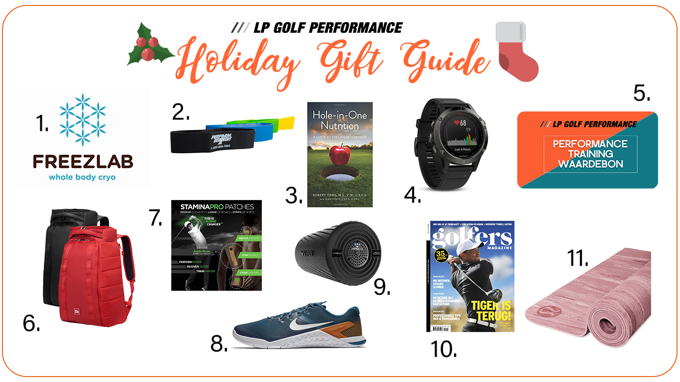 De top 10 sportieve golfcadeau's: de Holiday Gift Guide