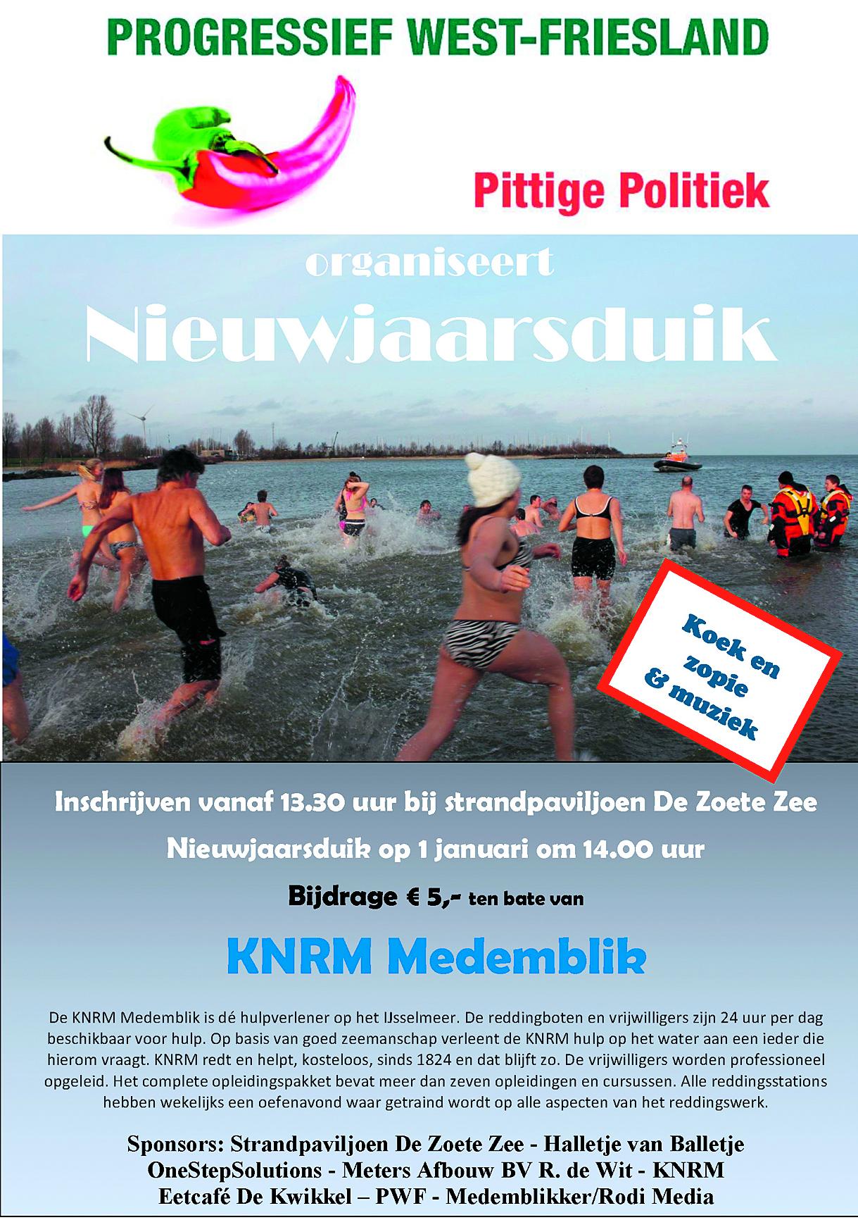 De bemanning van KNRM Medemblik staat dag en nacht klaar voor noodgevallen op het IJsselmeer. (Foto: KNRM Medemblik) rodi.nl © rodi