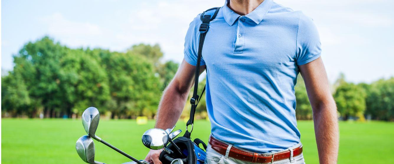 Poloshirts: alleen de golfbaan?