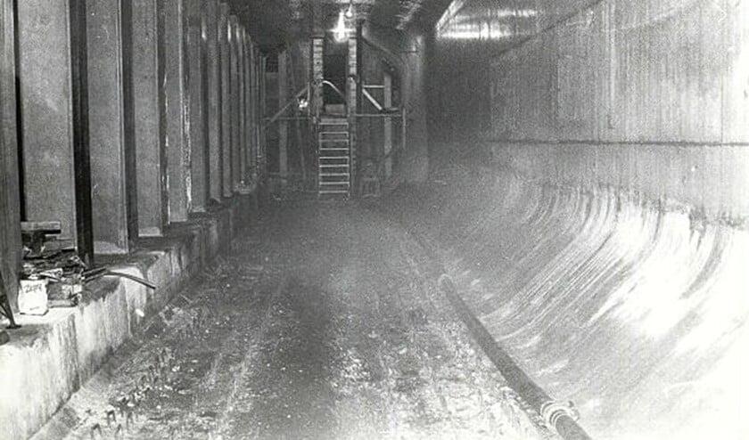 <p>De aanleg van de metrobaan.&nbsp;</p>