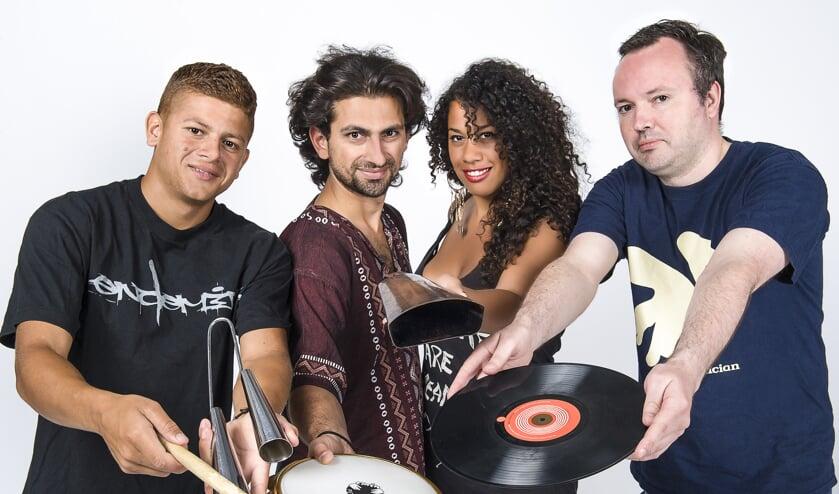 4Beat brengtr percussie uit de hele wereld. Foto: PR.