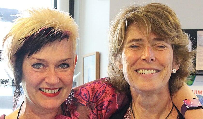 Ellen van den Berg en Ingrid Ranftl.