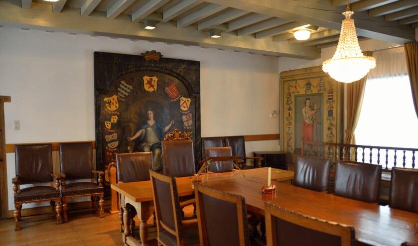<p>De voormalige raadzaal in Geervliet.</p>