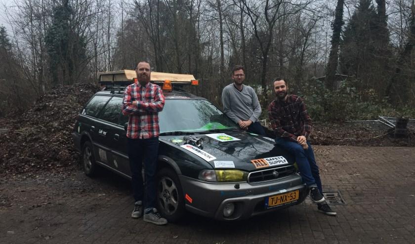 v.l.n.r. op de foto; Casper Hervij, Rene Esveldt en Mark Poppelaars.