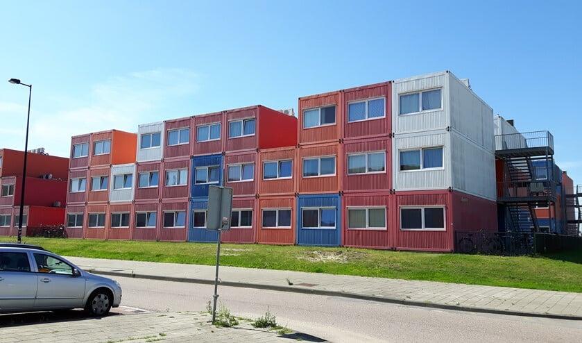 Containerwoningen kunnen de vraag naar sociale huurwoningen opvangen.