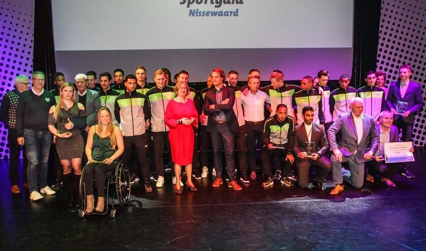 De winnaars in 2017.