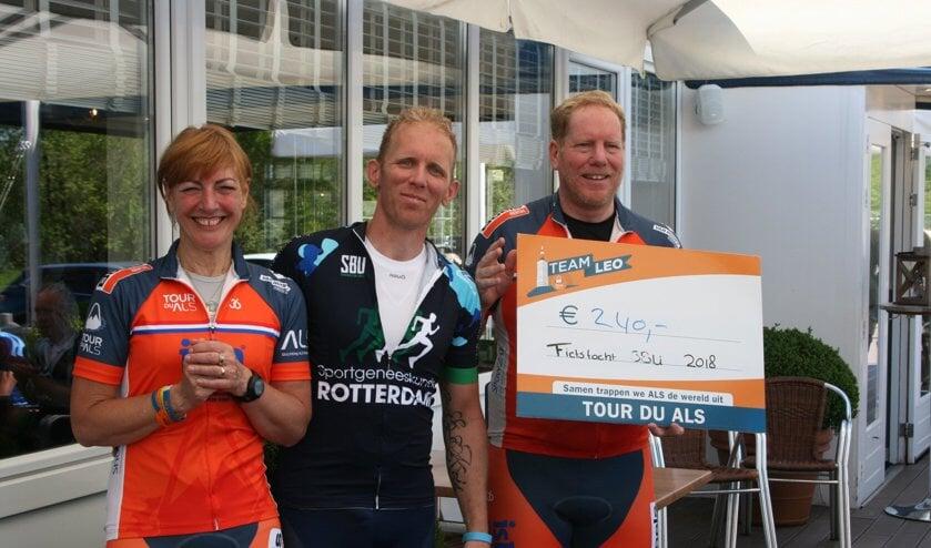Iedere euro die de deelnemers bijdroegen, gaat naar het goede doel, er werd €240,- opgehaald!