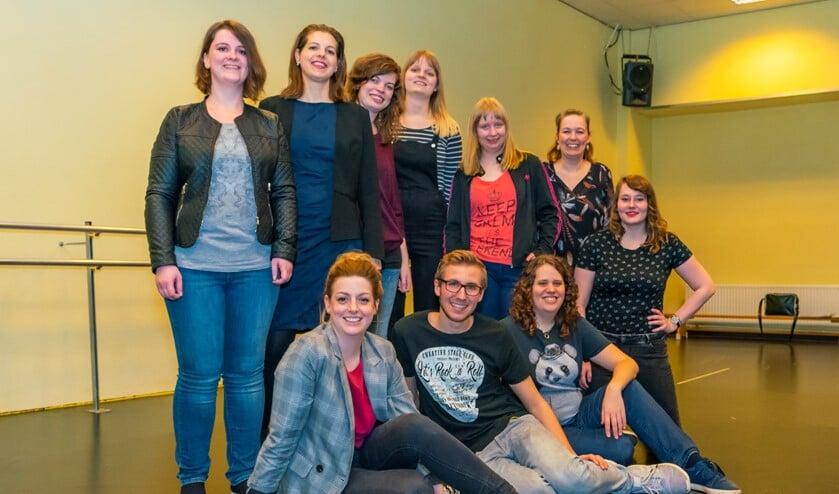 Een deel van het ensemble. Foto: Foto-OK.nl