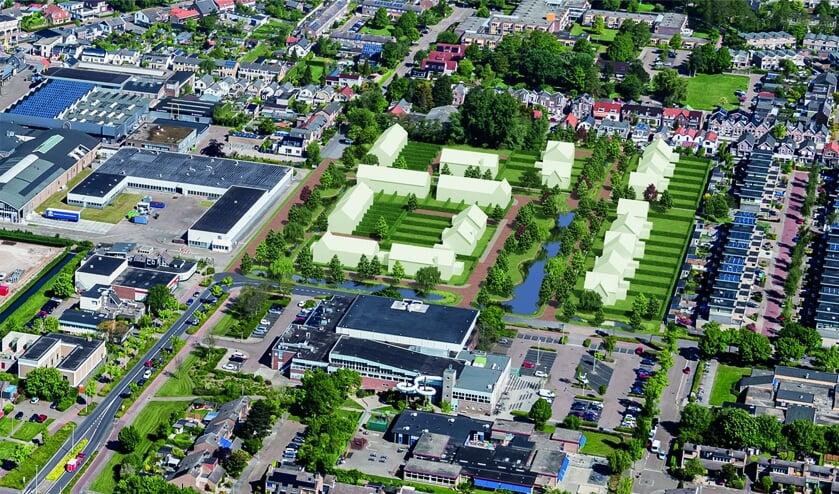 Nieuwbouwproject At home in 3223 komt nabij de Sportlaan in Hellevoetsluis.
