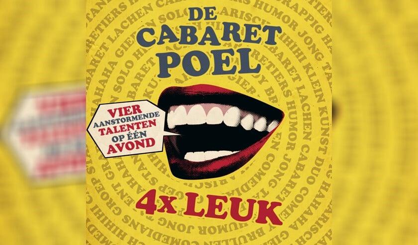 In De Cabaretpoel spelen vier nieuwe aanstormende cabarettalenten elk een voorstelling van ongeveer 25 minuten.